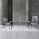 现代简约风岩板餐桌椅 ZACZY-012 05# -zayx