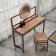 新中式实木梳妆凳 ZASZD-002