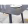极简风岩板餐桌椅  881#  05# 劳伦黑金 -zayx