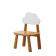 北欧风实木凳子 ZASZD-001