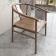 新中式实木休闲椅  ZADY-006