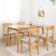 北欧式实木餐桌椅 ZACZY-016-zayx