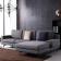 现代时尚款可拆洗布艺沙发 SBLSFB0003 -zayx