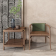 新中式实木书椅 ZASYA-001