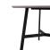 现代时尚款钢化玻璃餐桌椅 A2071  B2563-zayx