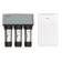全净系列三 安吉尔厨下超滤净水器 J1201-UFB120+海尔空气净化器KJ190F-HCB(s)