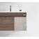 安华卫浴新 80公分生态实木浴室柜 N2D80G17-J
