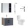 箭牌 新卫浴四件套 套餐三(浴室柜 ADGMD7G3237-F+龙头 AF4102+马桶 AG1003+花洒 AG3306)-618活动
